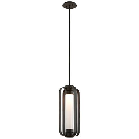 """Verve 20""""H Bronze Outdoor LED Hanging Light"""