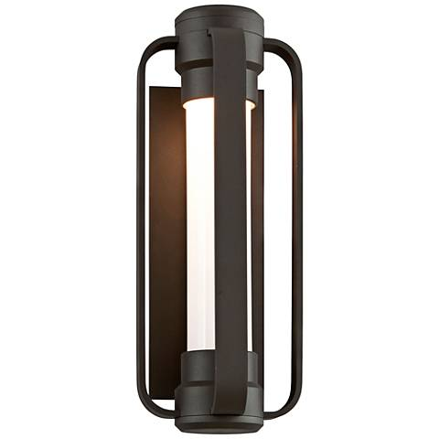 "Verve 16 1/2"" High Bronze LED Outdoor Wall Light"