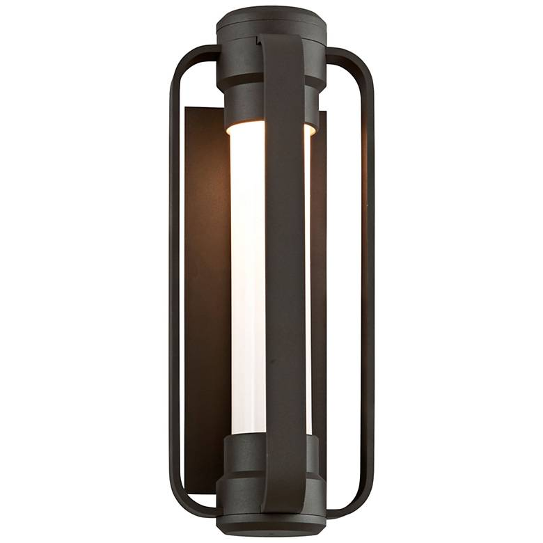 "Verve 16 1/2"" High Coastal Bronze LED Outdoor Wall Light"