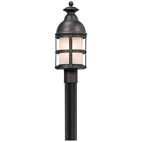 "Webster 20"" High Vintage Bronze LED Outdoor Post Light"