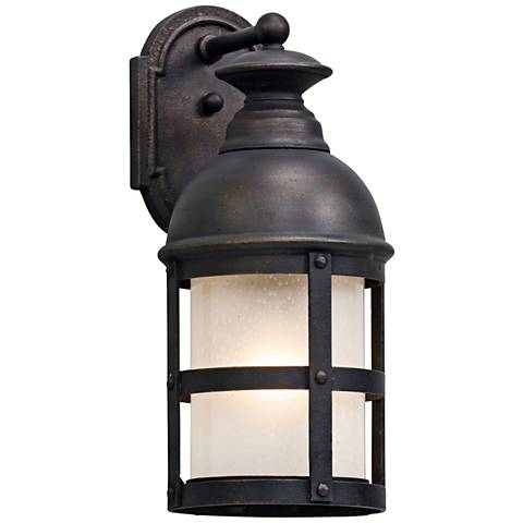 "Webster 17 1/2"" High Vintage Bronze Outdoor Wall Light"