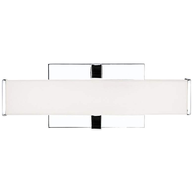 "Tech Lighting Ellis 12"" Wide Polished Chrome LED Bath Light"