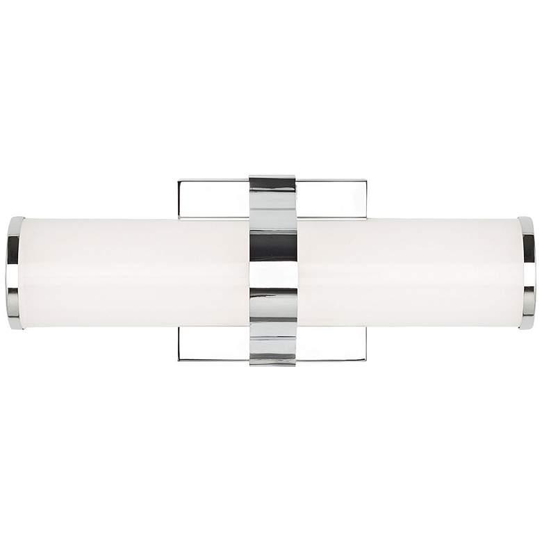 """Tech Lighting Lynk 12"""" Wide Polished Chrome LED Bath Light"""