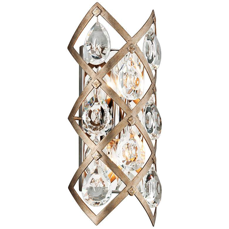 "Corbett Tiara 15 1/2"" High Vienna Bronze Wall Sconce"
