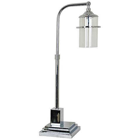 Crestview Collection Star Lux Chrome Table Lamp