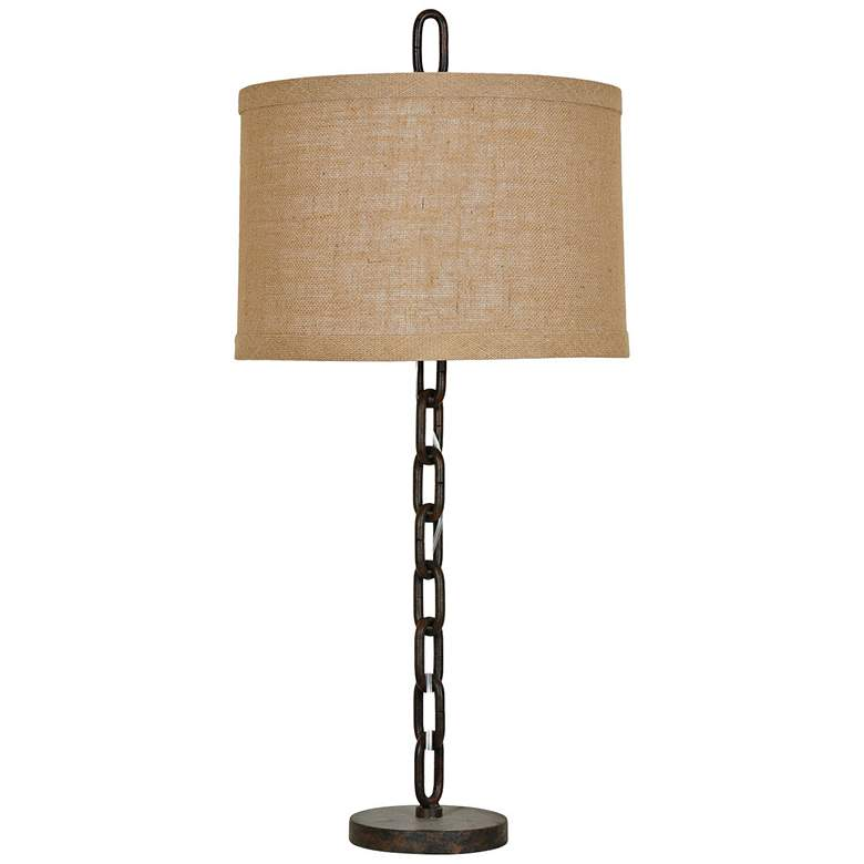 Crestview Collection Link Rustic Table Lamp