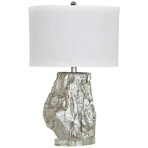 Crestview Collection Cormac Silver Table Lamp