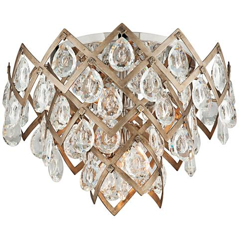 "Corbett Tiara 19 1/2"" Wide Vienna Bronze Ceiling Light"