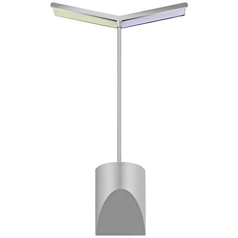 """Sonneman Chroma 16 1/4"""" High Satin Aluminum LED Wall Sconce"""