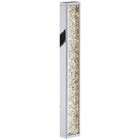 "Sonneman Dazzle Slim 18 1/4""H Polished Chrome LED Sconce"