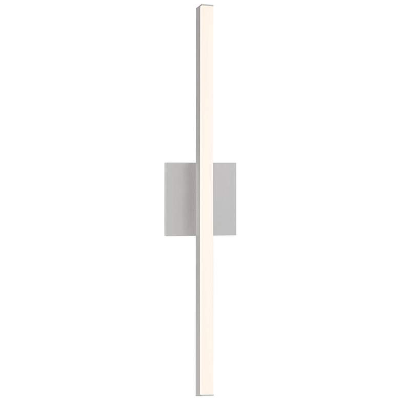 "Sonneman Stix 24 3/4"" High Satin Aluminum LED Wall Sconce"