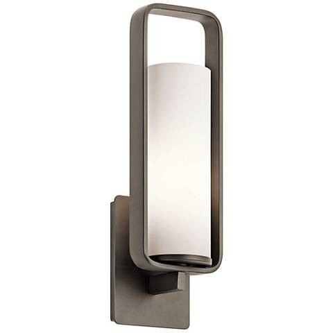 "Kichler City Loft 17 1/4"" High Olde Bronze Wall Sconce"