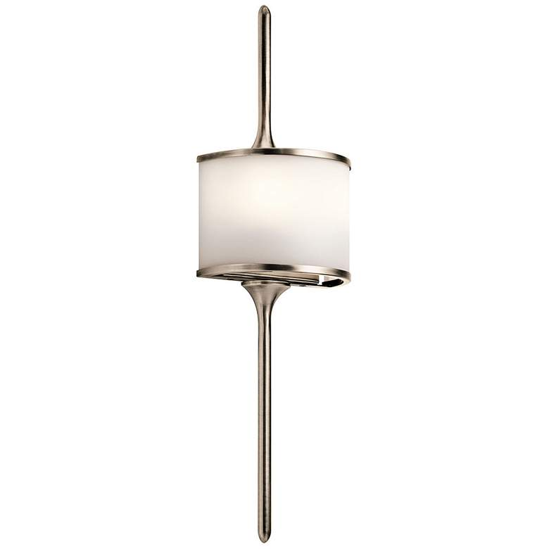 """Kichler Mona 22"""" High Classic Pewter 2-Light Wall Sconce"""