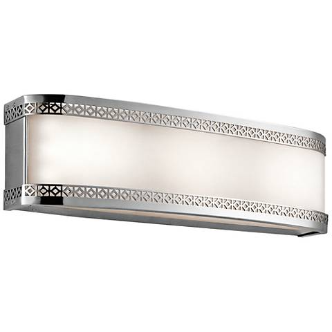 "Kichler Contessa 18""W Chrome 3-Light LED Linear Bath Light"