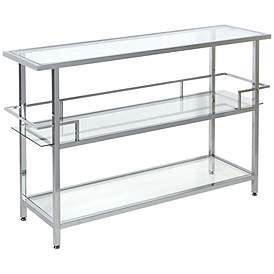 Chrome Sofa Console Tables Tables Lamps Plus