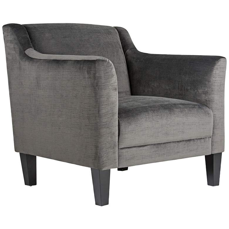 Studio Designs Home Grotto Empire Charcoal Fabric Armchair