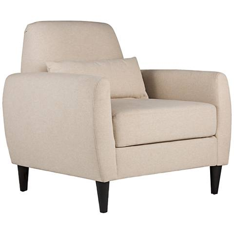 Studio Designs Home Allure Devon Sand Fabric Armchair