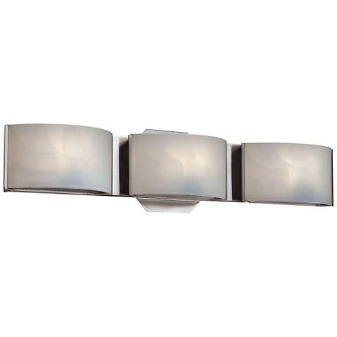 "Eurofase Dakota 20"" Wide Chrome 3-Light LED Bath Light"