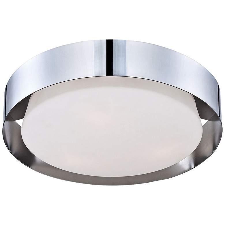 "Eurofase Saturn 15 1/2"" Wide Chrome LED Ceiling Light"