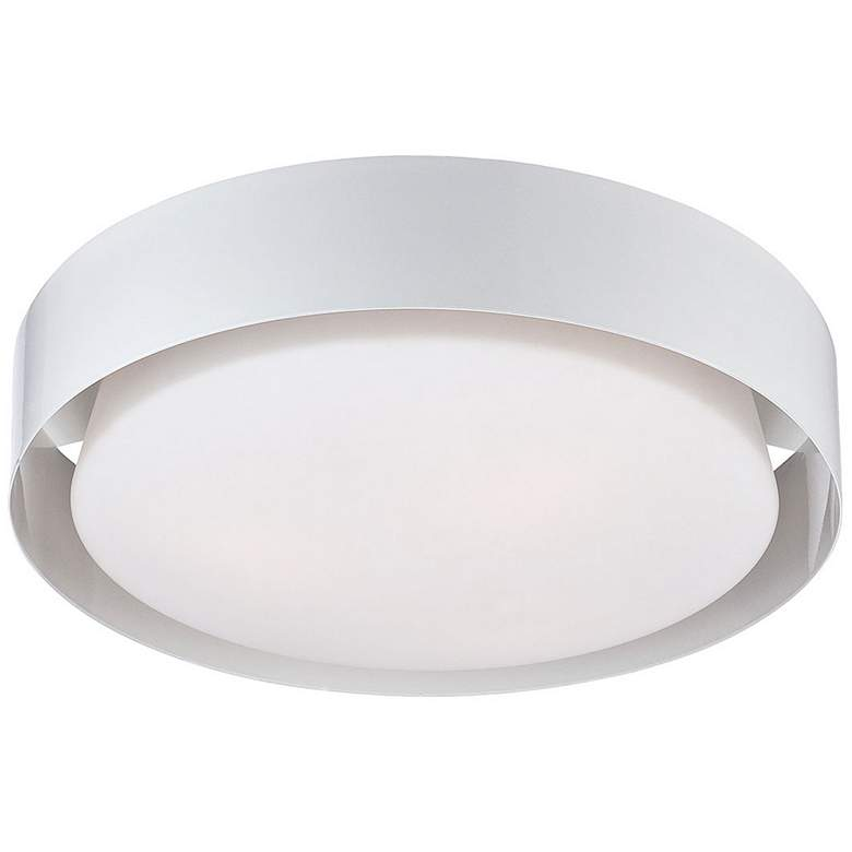"Eurofase Saturn 15 1/2"" Wide White LED Ceiling"
