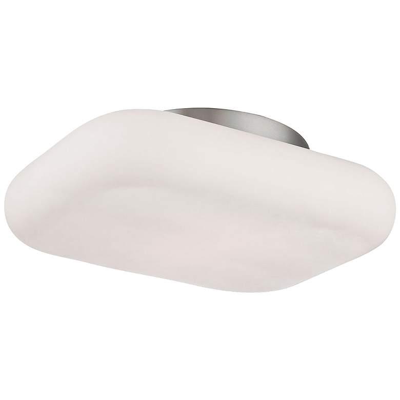 """Eurofase Alma 13""""W Satin Nickel 2-Light LED Ceiling"""