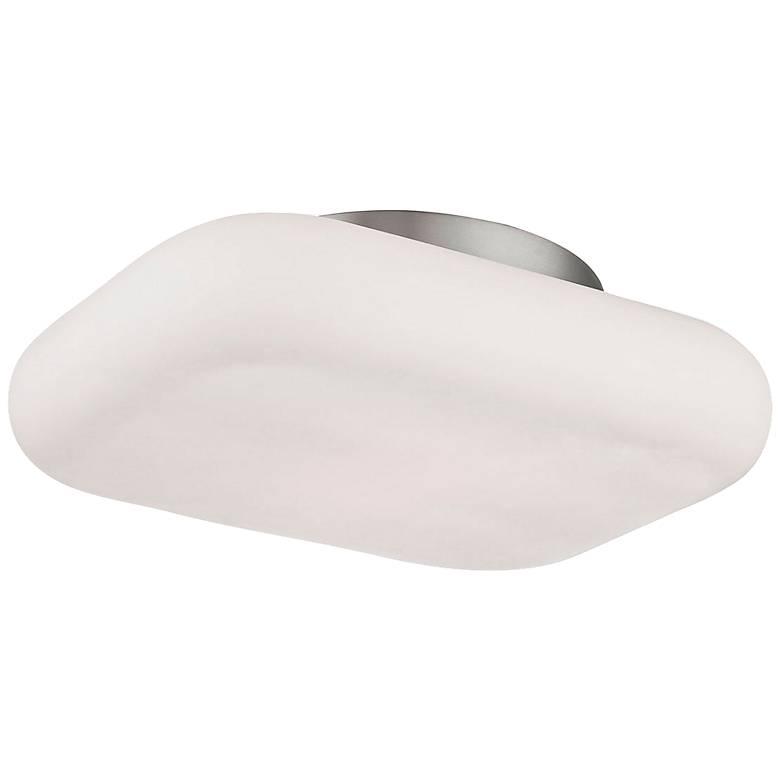 "Eurofase Alma 13""W Satin Nickel 2-Light LED Ceiling Light"