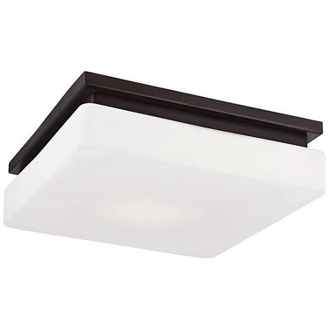 """Eurofase Ellsworth 11 1/2"""" Wide Bronze LED Ceiling Light"""
