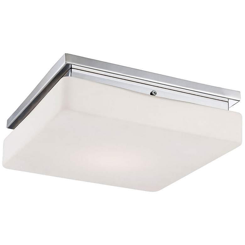 """Eurofase Ellsworth 11 1/2"""" Wide Chrome LED Ceiling Light"""