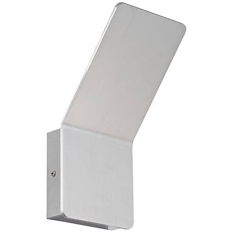 "Eurofase Delroy 9 1/2"" High Aluminum LED Wall Sconce"