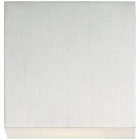 """Eurofase Form 5 1/2"""" Wide Aluminum 1-Light LED Ceiling Light"""