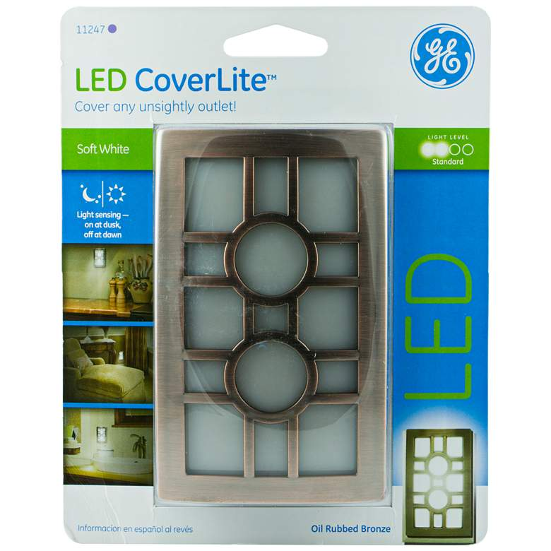 GE Coverlite Bronze Sun LED Night Light