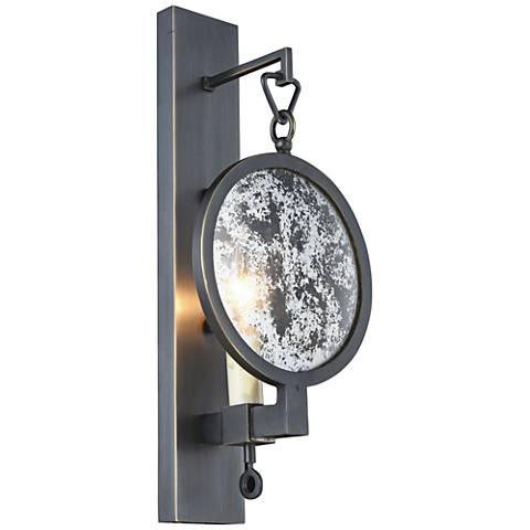 "Twilight 14"" High Bronze 1-Light Wall Sconce"