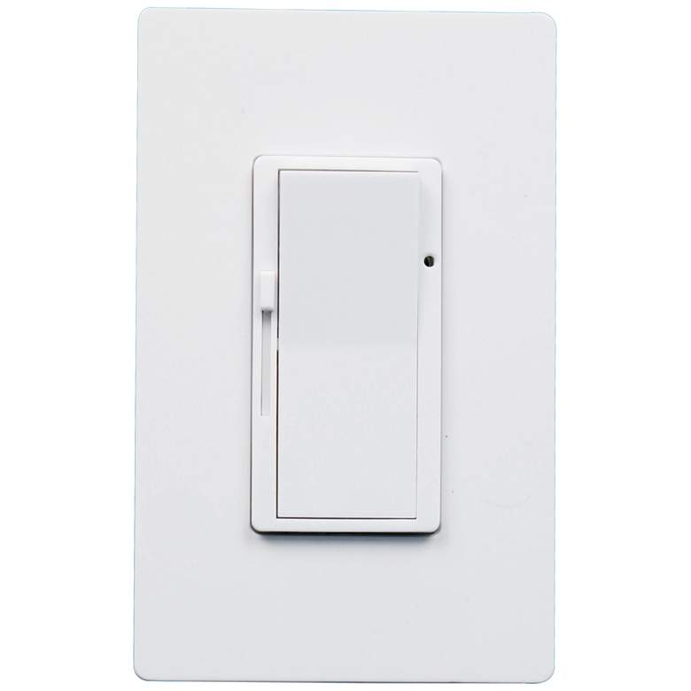 Tesler White 3-Way Rocker Switch with Dimmer