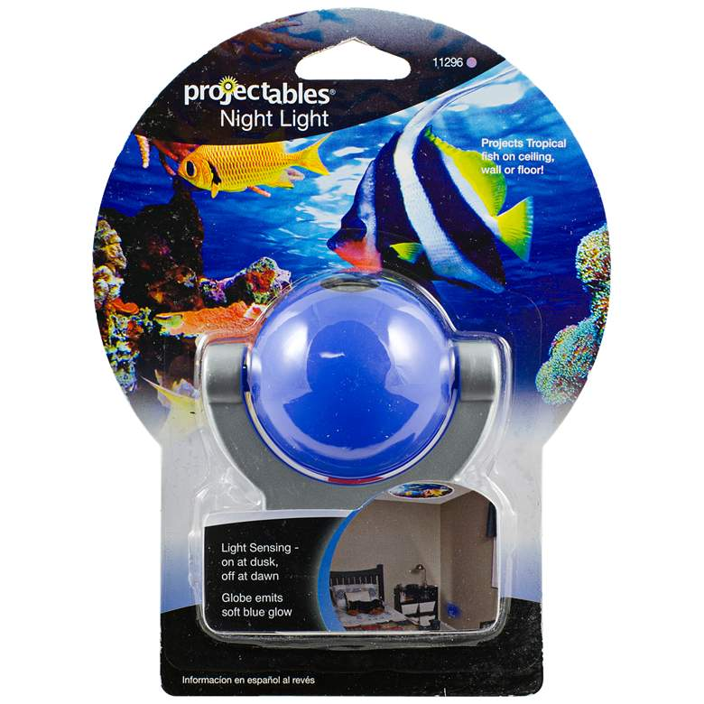 Projectable Blue Fish LED Night Light
