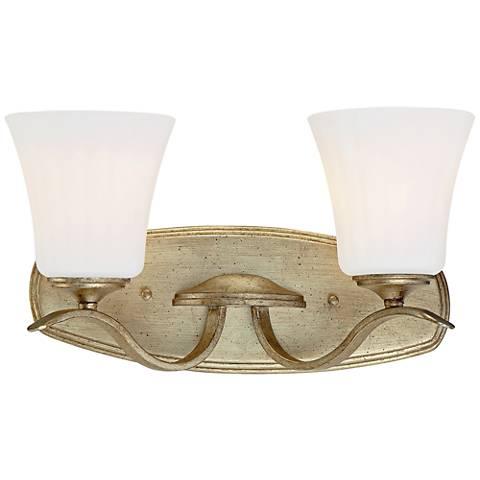 "Laurel Estate 16 1/2"" Wide Brio Gold 2-Light Bath Light"