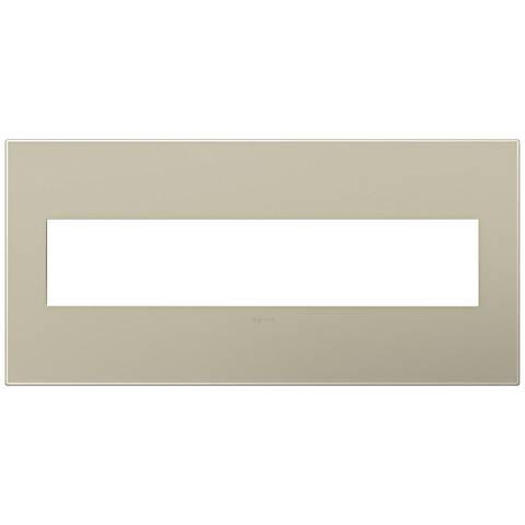 adorne® Titanium 5-Gang Snap-On Wall Plate