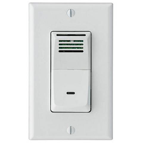 Sensaire Humidity-Sensing Wall Switch for Bath Exhaust Fan
