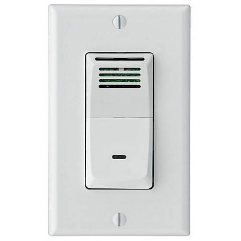 Sensaire humidity sensing wall switch for bath exhaust fan - Bathroom exhaust fan control switch ...
