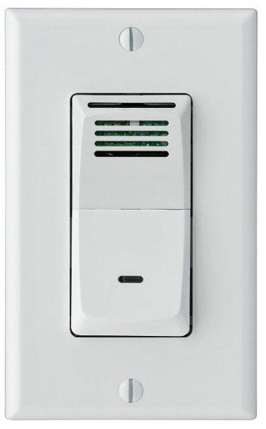 Sensaire Humidity Sensing Wall Switch For Bath Exhaust Fan   #9G549 | Lamps  Plus