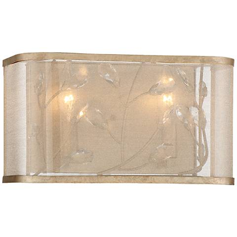 "Sara's Jewel 12 1/4"" Wide Champagne Silver Bath Light"