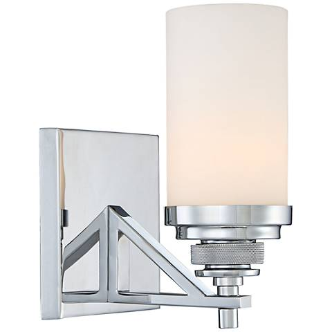 "Brushcreek 8 1/4"" High Polished Chrome Wall Sconce"