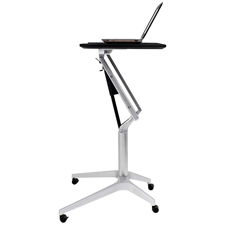 "201 Collection 27 1/2"" Wide Espresso Adjustable Laptop Desk"