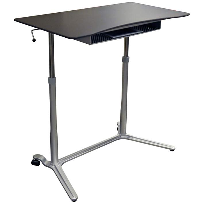 204 Collection 38 Wide Espresso Adjustable Stand Up Desk 9h034 Lamps Plus
