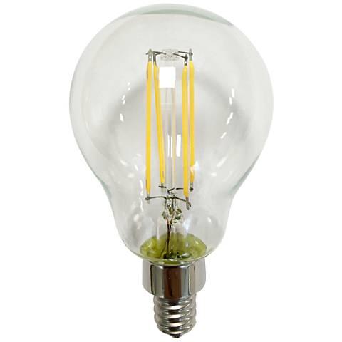 60 watt equivalent tesler clear 4 5w led dimmable candelabra 9h084 lamps plus. Black Bedroom Furniture Sets. Home Design Ideas