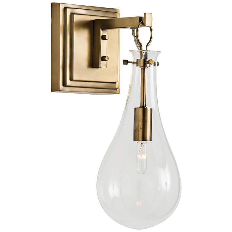 "Arteriors Home Sabine 15"" High Polished Brass Wall Sconce"