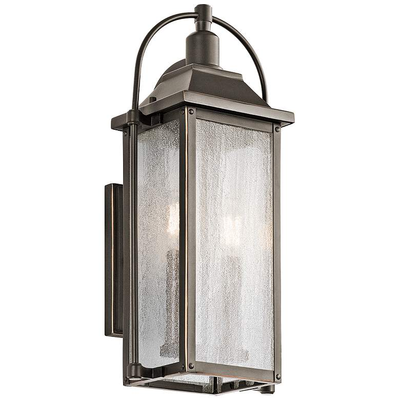"Kichler Harbor Row 18 1/2"" High Bronze Outdoor"