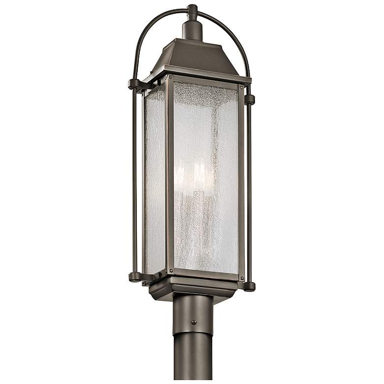 "Kichler Harbor Row 27 1/4"" High Bronze Outdoor"