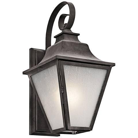 """Kichler Northview 17 1/4"""" High Zinc Outdoor Wall Light"""