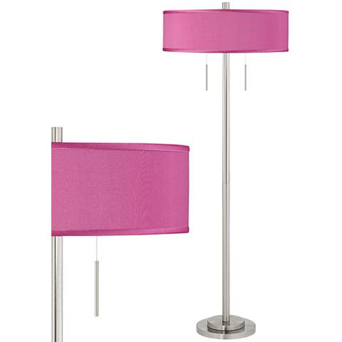 Silver, Swing Arm, Floor Lamps | Lamps Plus