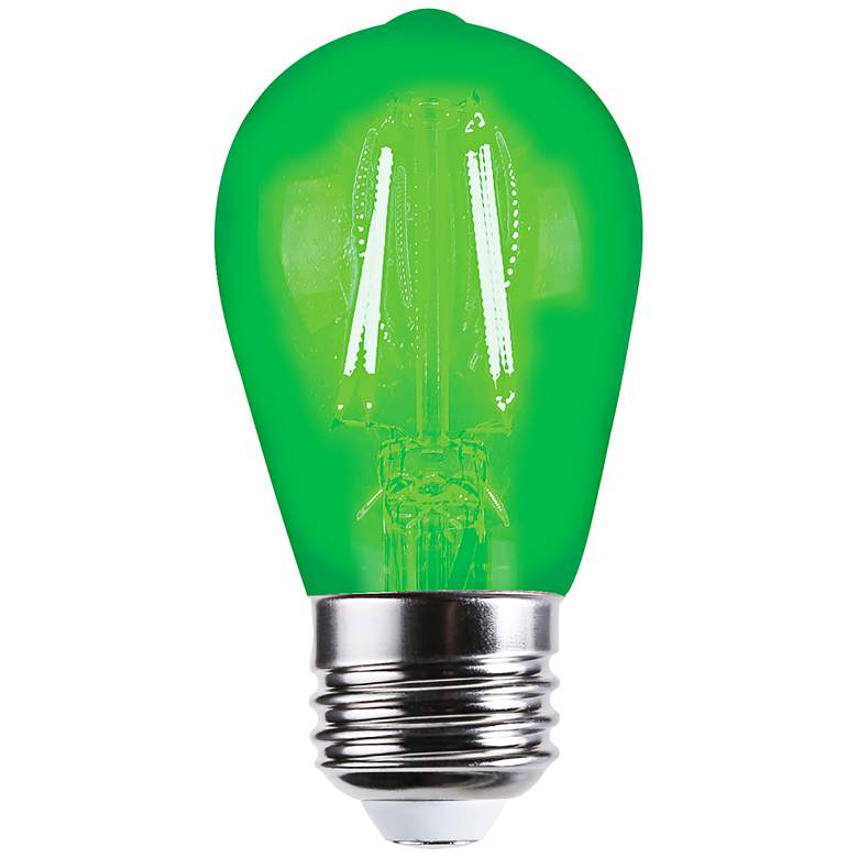 40W Equivalent Tesler Green 4W LED Dimmable Bulb